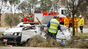 Woman dies in two-vehicle crash on Hume Highway near Gunning