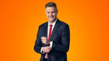 Tom Ballard was improving as an interviewer who could bring a comic perspective and clarity to a range of guests.