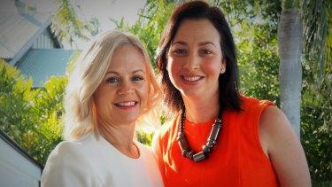 Tracey Montgomery and Melanie Martin.