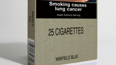 In 2012, Australia became the first developed nation to order the use of plain packaging.