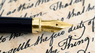 'I can't remember the last time I wrote to someone or the last time I received a handwritten letter.'