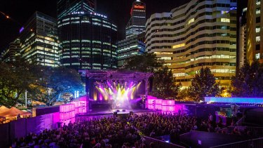 Chevron Gardens at Perth Festival 2017.
