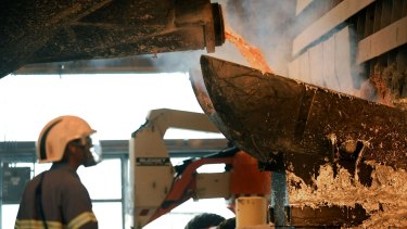 Up to 2000 jobs may be at risk at Alcoa's Portland plant.