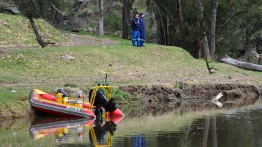 The search for two seven-year-old girls who went missing during a family camping trip at Ophir Reserve near Orange.