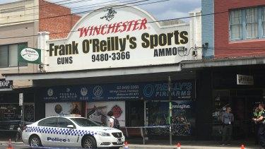 The Thornbury store robbed last week.
