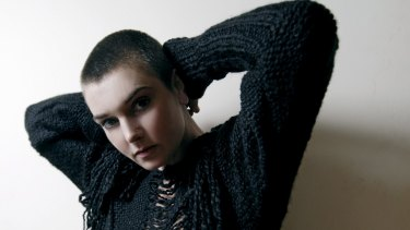 A Kevin Abosch portrait of Irish singer Sinead O'Connor.