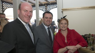 Trent Zimmerman (left)  is the Liberal candidate for North Sydney after Joe Hockey quit.