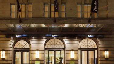 Radisson Blu Plaza Hotel in Sydney