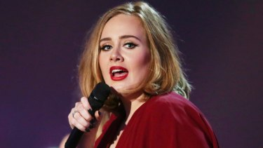 Adele, the biggest selling artis of the year.