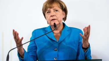 German Chancellor Angela Merkel expects Germany to receive 800,000 migrants this year.