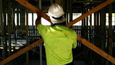 Citi predicts housing construction starts will fall by a quarter over the next two years - which will leave its mark on jobs for builders and tradies.