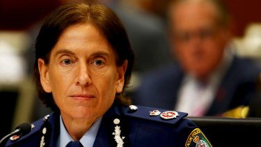 NSW Police Deputy Commissioner Catherine Burn.