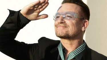 Earlier this year U2 frontman Bono revealed that he suffers from glaucoma.