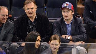 Liam Neeson and Daniel Neeson.