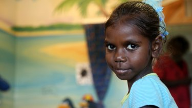 Brooklyn in Take Heart, a documentary about the persistence of rheumatic heart disease in remote Aboriginal communities.