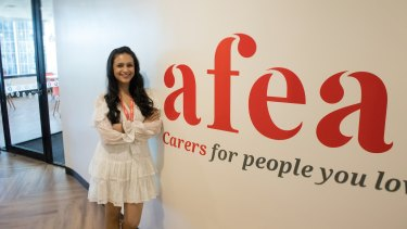 Esha Oberoi found a sense of purpose in caring for others.