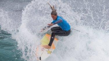 Courtney Conlogue wins the Ripcurl surfing final at Bells Beach.