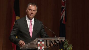 """""""This week Australia is a boy in a hood in a cell"""": Stan Grant speaks on Friday night."""