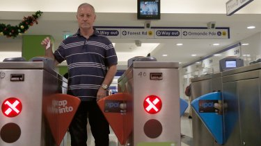 Terry Missingham took redundancy in June after working as a ticket seller for 27 years.