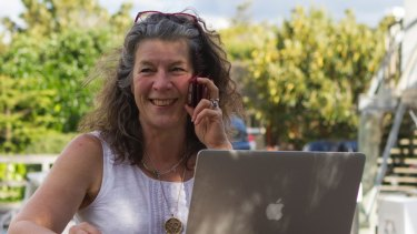 Linda Trent says that, working as an app developer, she's often the only woman in the room.