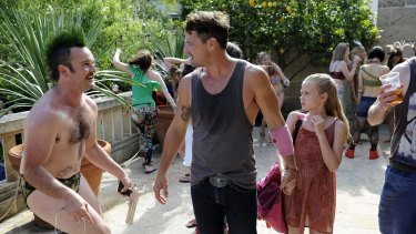 An 11-year-old Rice with Daniel Henshall and Nathan Phillips in These Final Hours.