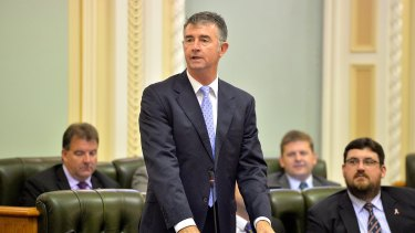 LNP Corrective Services spokesman Tim Mander has apologised for his 'line of questioning' about women on the Parole Board.