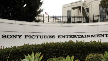 Sony Pictures Entertainment studios in Culver City California.