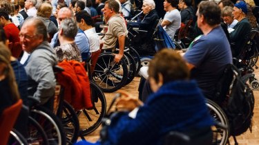 Spinal cord injury seminar at UTS on Wednesday supporting the launch of Project Edge.