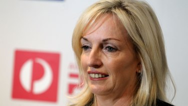 Christine Holgate will be the new boss at Australia Post and will be paid much less.