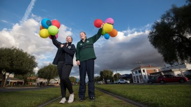 Alyssa and Amelia in years 9 and 8 at Wycheproof P-12 College attended a workshop and as a result will be fundraising for LGBTI services at their next casual clothes day.