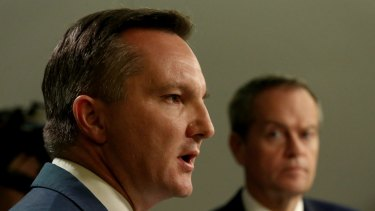 Shadow treasurer Chris Bowen accused the government of favouring big business.