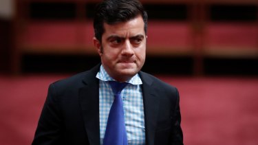 Senator Sam Dastyari on Wednesday.