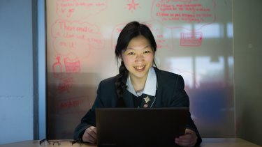 Belinda Shi is the first female to be selected in the Australian team for the International Olympiad in Informatics.