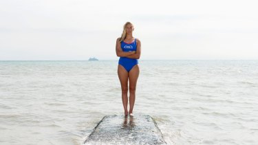 Australian Chloe McCardel is hoping for a new Australian record in the English Channel.