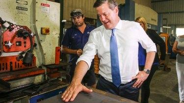 Queensland LNP leader Tim Nicholls during the election campaign.