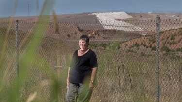 Marion Martin is among a group of western suburbs locals fighting a plan by Cleanaway to expand its landfill. But questions have emerged over who is behind the well-organised campaign to stop the expansion.