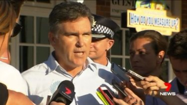 Dreamworld chief executiveCraig Davidson addressed the media some hours after the fatal accident.