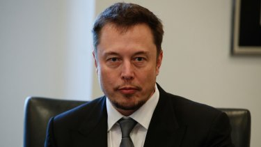 Tesla chief executive Elon Musk is one of the firms vying to build Australia's largest storage battery in Australia.