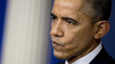 """US President Barack Obama promised a """"proportional"""" response to the hacking of Sony Pictures."""