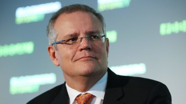 """Treasurer Scott Morrison said this month the government did not have """"a revenue problem"""" if the term meant a need to tax people more in order to raise more revenue."""