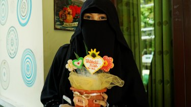 Indadari Mindrayanti is a founder of the Niqab Squad formed to help remove the stigma associated with the garment in Indonesia.