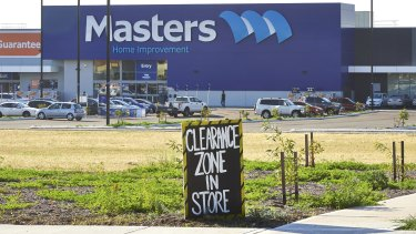 Industry players believe Masters has stepped up development activity in recent months as Woolworths attempts to curtail losses in the home improvement business.