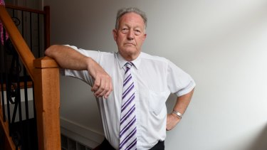 High school teacher Peter Mayes had a bad experience with his superannuation.