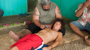 Chris Lilley as Jonah Takalua, in controversial Jonah from Tonga.