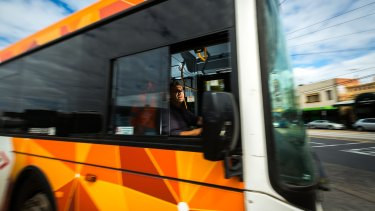 MELBOURNE, AUSTRALIA - MARCH 27:  Melbourne bus driver Charles Lablache at the Fitzroy TransDev bus depot on March 27, 2016 in Melbourne, Australia.  (Photo by Chris Hopkins/Fairfax Media)