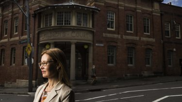 NSW Attorney-General Gabrielle Upton at Children's Court in Albion Street in Surry Hills.