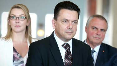 Senator Nick Xenophon has said he wants to secure tax breaks for independent journalism and some kind of controls or levies on Facebook or Google in exchange for his party's support.