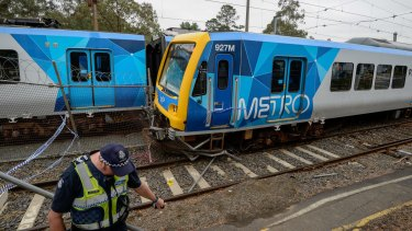 The incident at Hurstbridge station caused more than $2.5 million in damage.