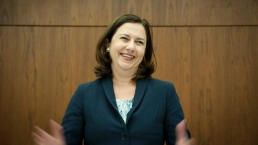 Premier Annastacia Palaszczuk has taken a conciliatory approach to relations with the Abbott Government.