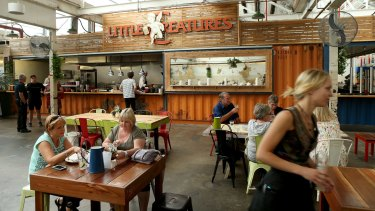 Victoria is the nation's home of craft beer. This is the dining room inside the Little Creatures Brewery in Geelong.